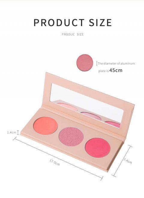 3 colors Blush