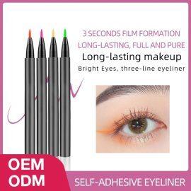 14 Colors Self-Adhesive Eyeliner AZYM-14E
