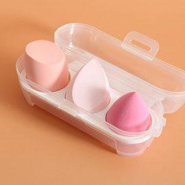 3pcs Boxed Beauty Makeup Sponges ALG-3S