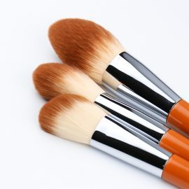 10pcs Orange Makeup Brush Set ALS-6244
