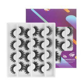 12 Pairs of False Eyelash Sets AZYM-12F